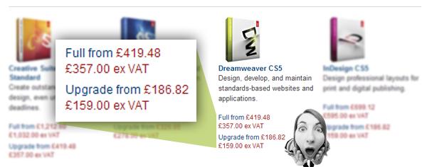 Dreamweaver Full from £419.48