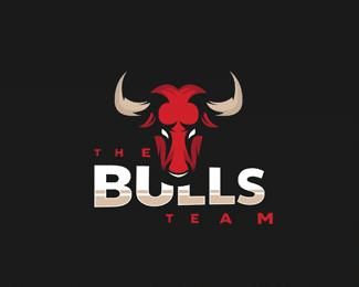 bulls Clever Logo Designs