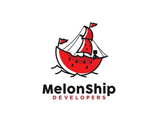 MelonShip Clever Logo Designs