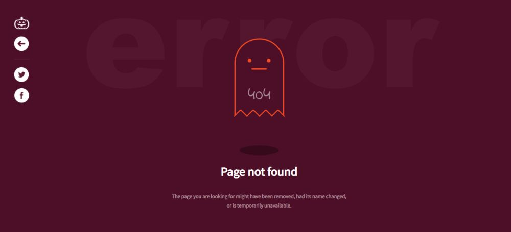 Halloween 404