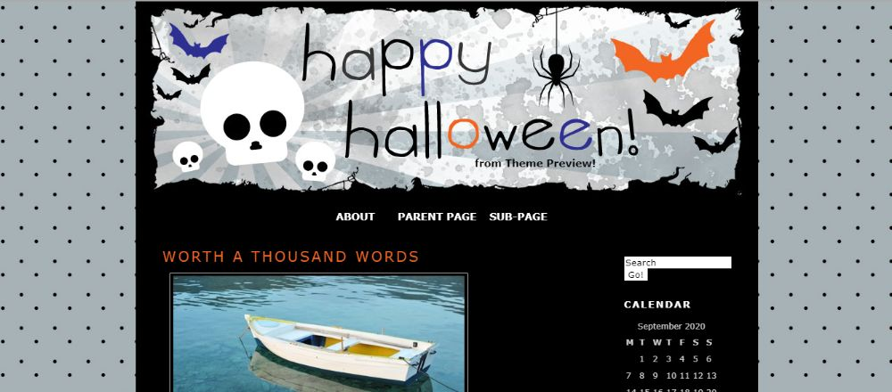 Kelleyroo WordPress theme