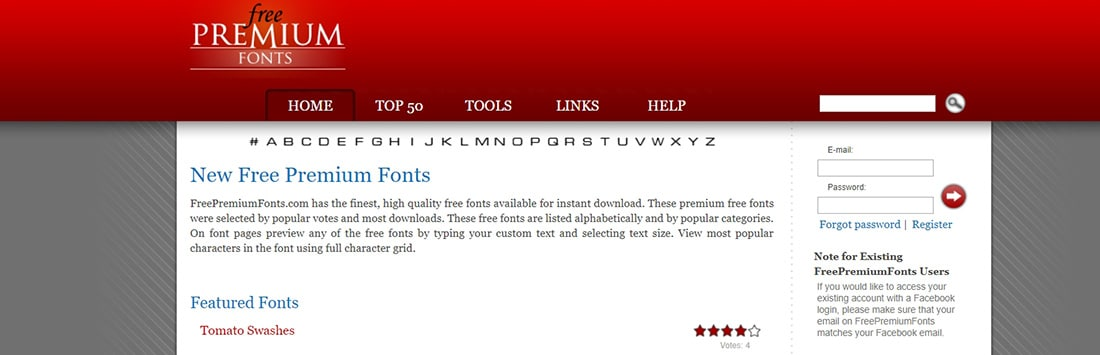 Free Premium Fonts _ download free quality TrueType fonts for Windows & Mac