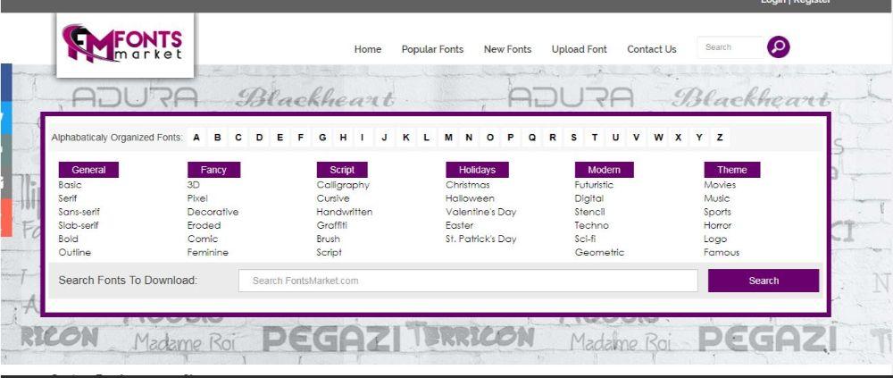 Download Free Fonts- Fonts Market