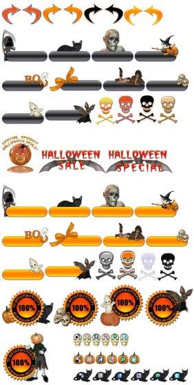 Halloween Icons Sample