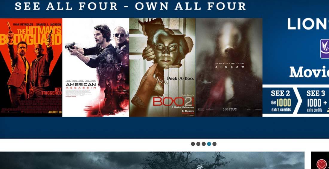 Regal Cinemas, UA & Edwards Theatres corporate websites