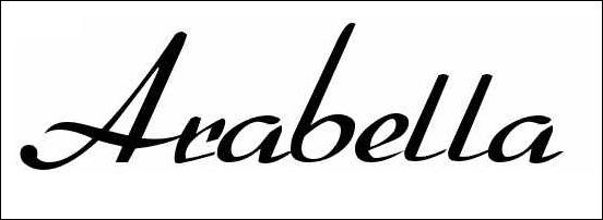 Arabella Calligraphy Font