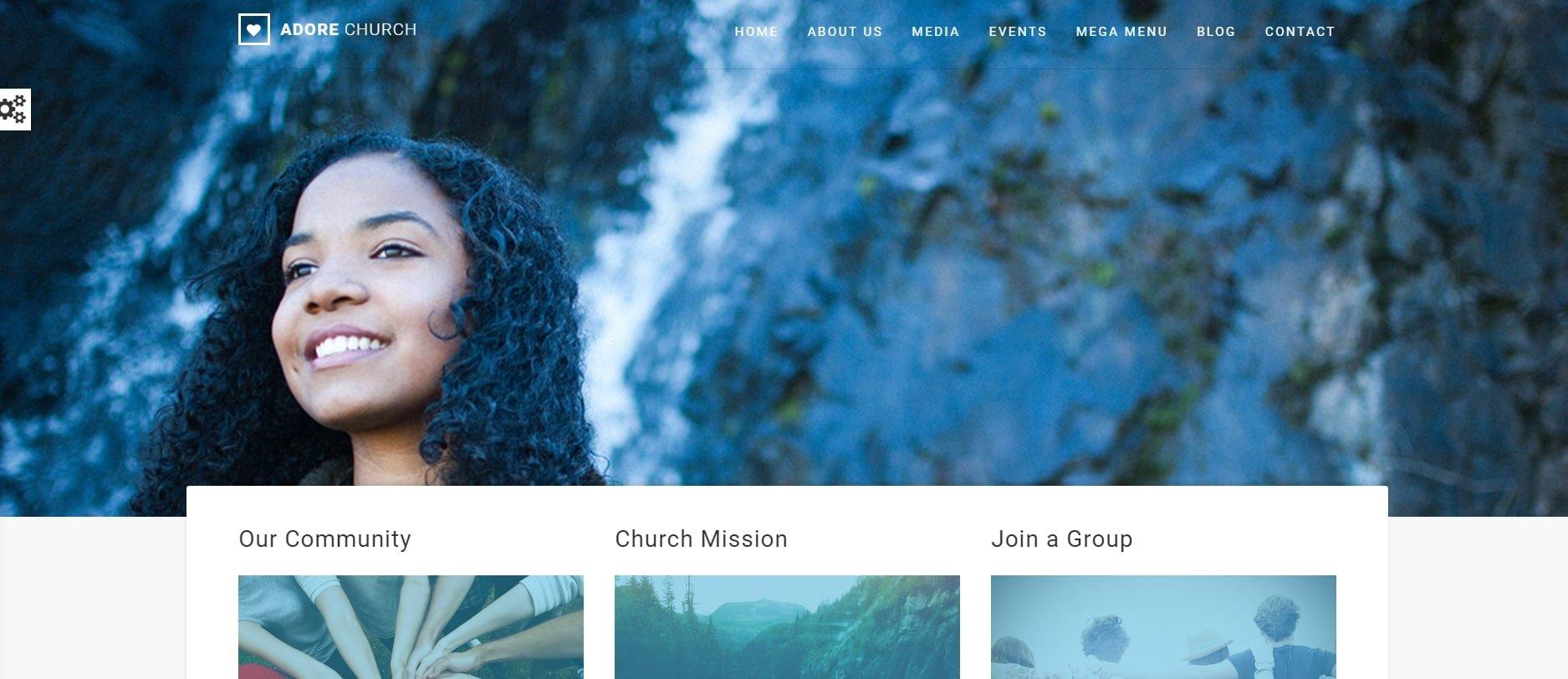 AdoreChurch - Church web template