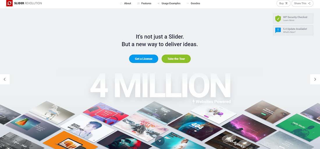 Slider Revolution Responsive WordPress Slider Plugin