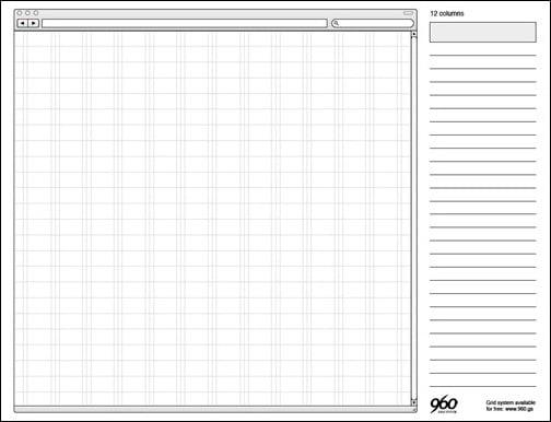 960 Grid Template Set