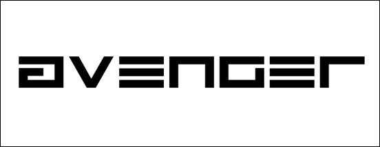 Avenger Square Font