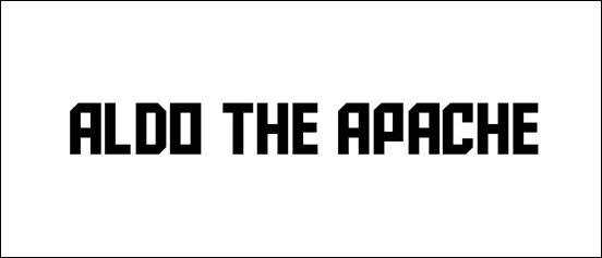 Aldo the Apache Square Font