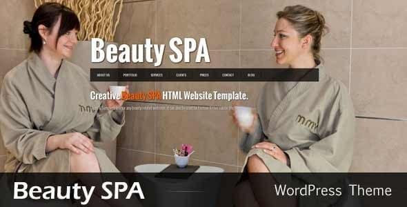 Beauty SPA Beauty Website Template