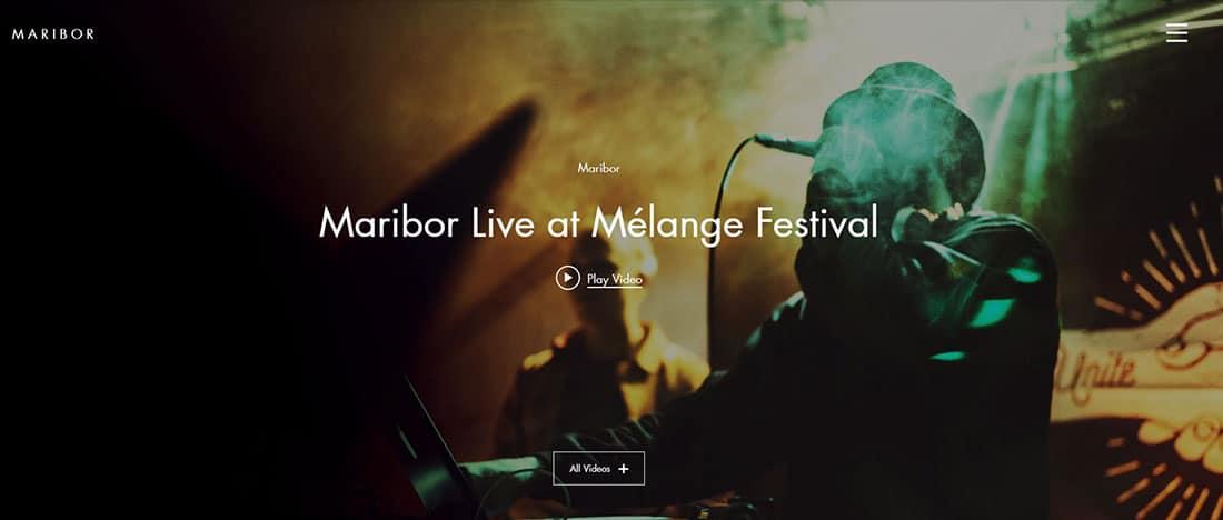 Music Festival Nightlife Website Templates