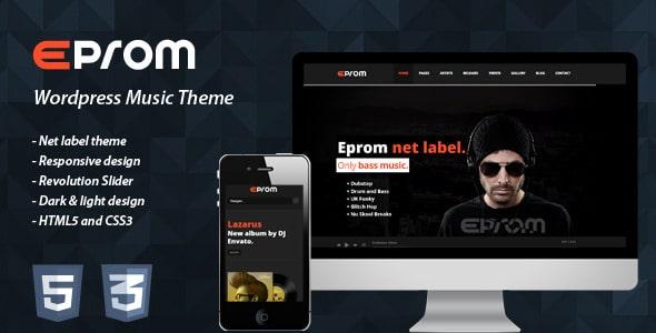 EPROM Nightlife Website Templates