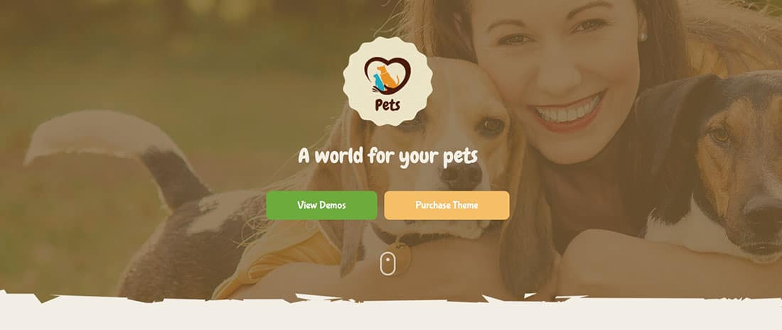 Pet World - Pet Sitter WordPress Theme