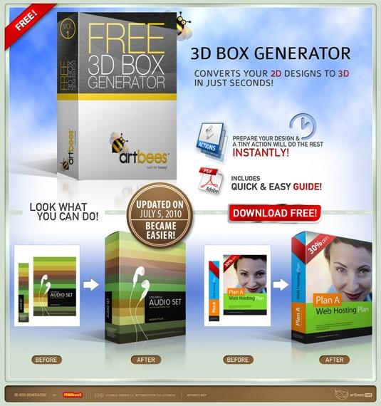 3D box generator