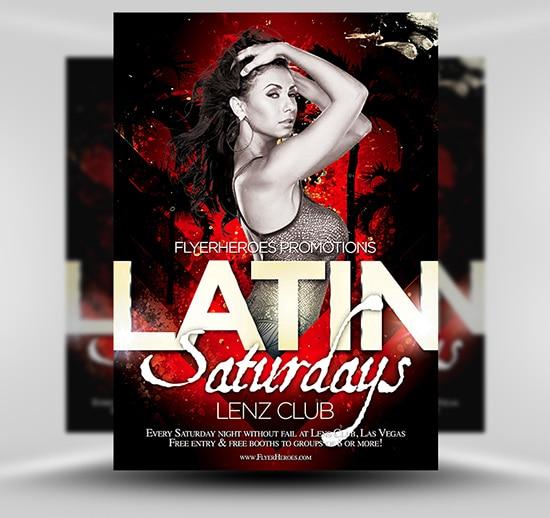 Latin Night Flyer