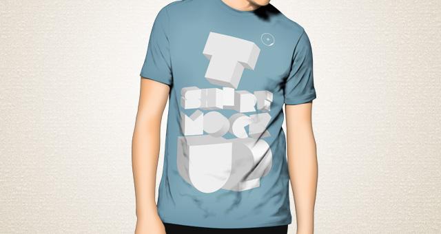 Tshirt Mockup Template Psd