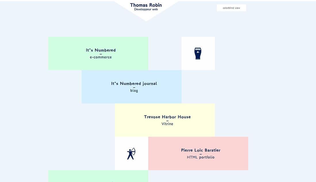 Thomas Robin grid website