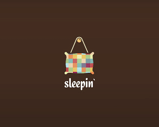 Sleepin colorful logo
