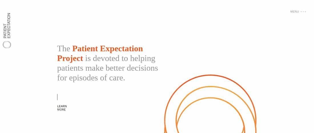 Patient Expectation Orange Website