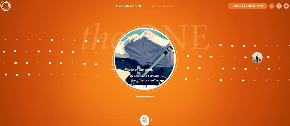 Bugaboo The One Orange Website