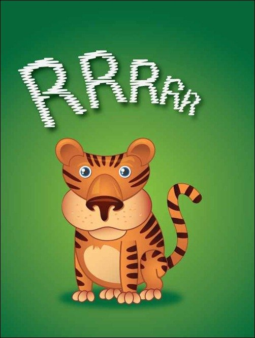 Create a Cute Little Tiger in Illustrator Cartoon Tutorials