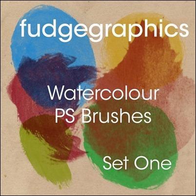 Watercolour Brushes Set 1