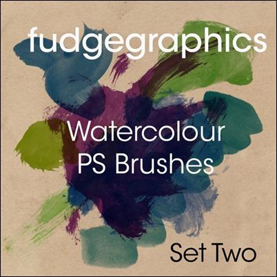 Watercolour Brushes Set 2