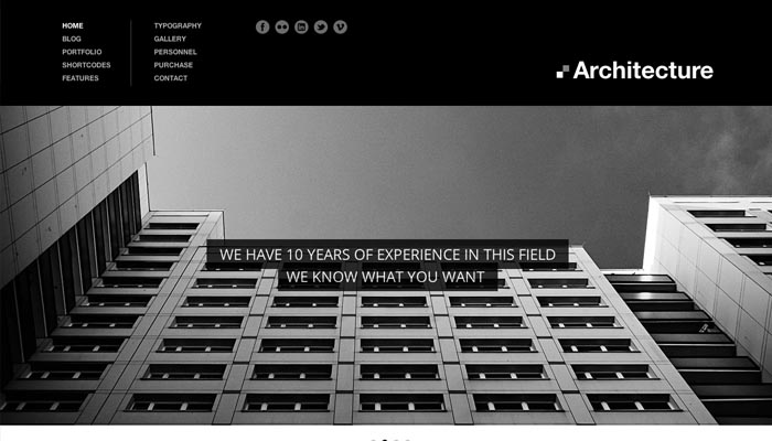 Architecture Premium WordPress Theme