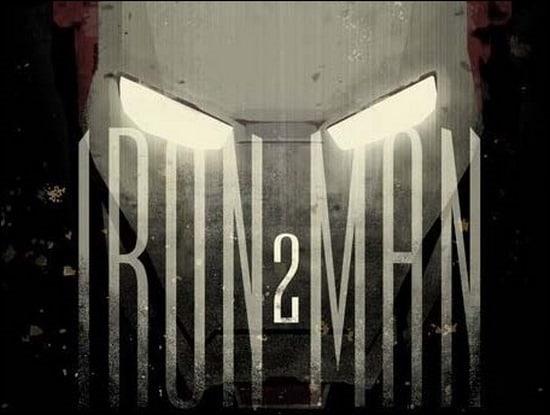 Marvel Comic Movie Iron Man poster design