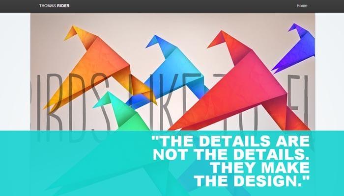 designer Portfolio Website Templates for Artists
