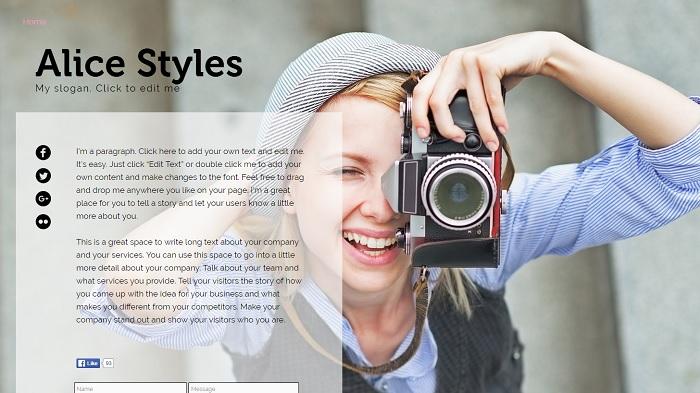 Resume Website Templates