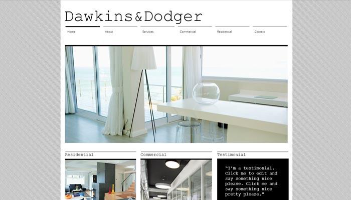studio Architecture Theme Clean Portfolio Website Templates