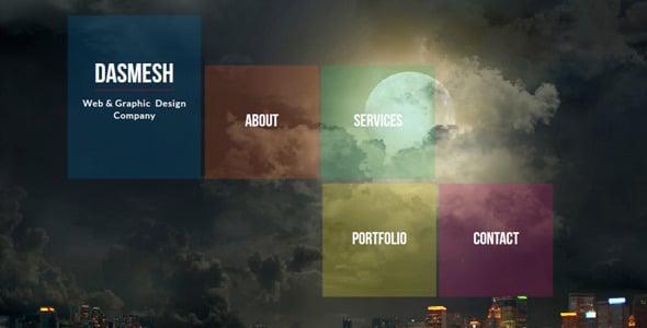 Dasmesh Muse Website Template