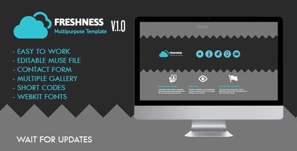 Freshness Muse Website Template