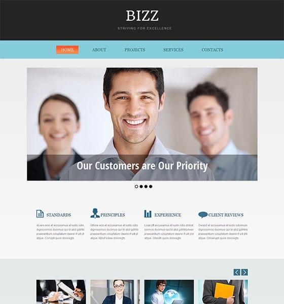 Bizz HTML5 Responsive Template