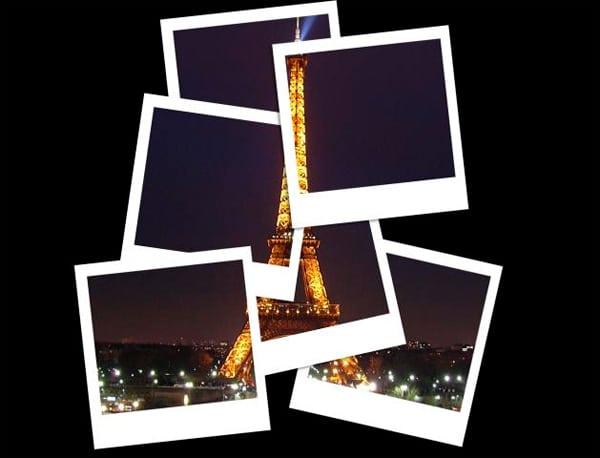 Collage Of Polaroids