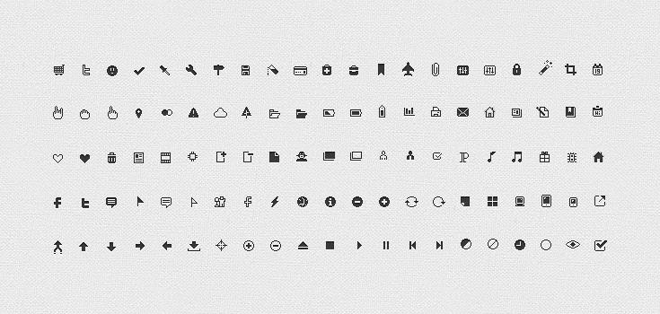 Pixicus Icon Set