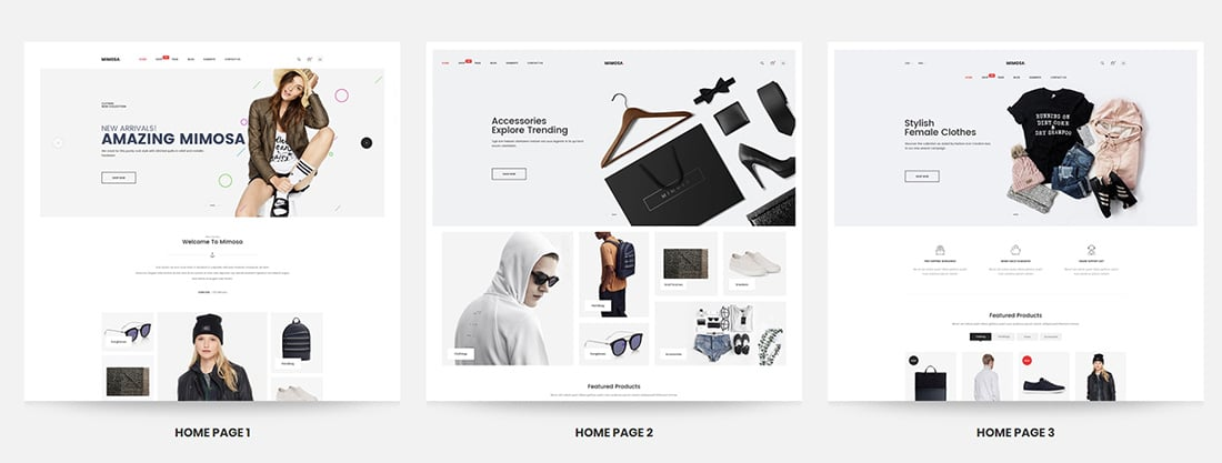 Mimosa - Responsive Fashion Opencart