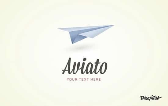 Aviato logo Free Logo Templates