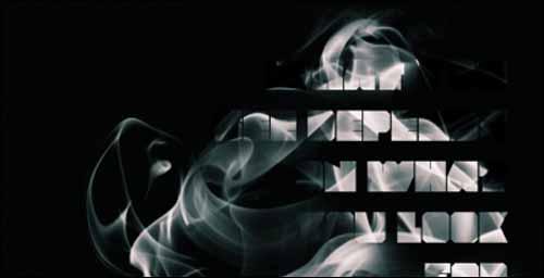 Create Smoke Photoshop Text Effect