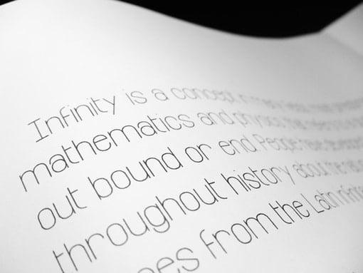 Infinity Free Behance Font