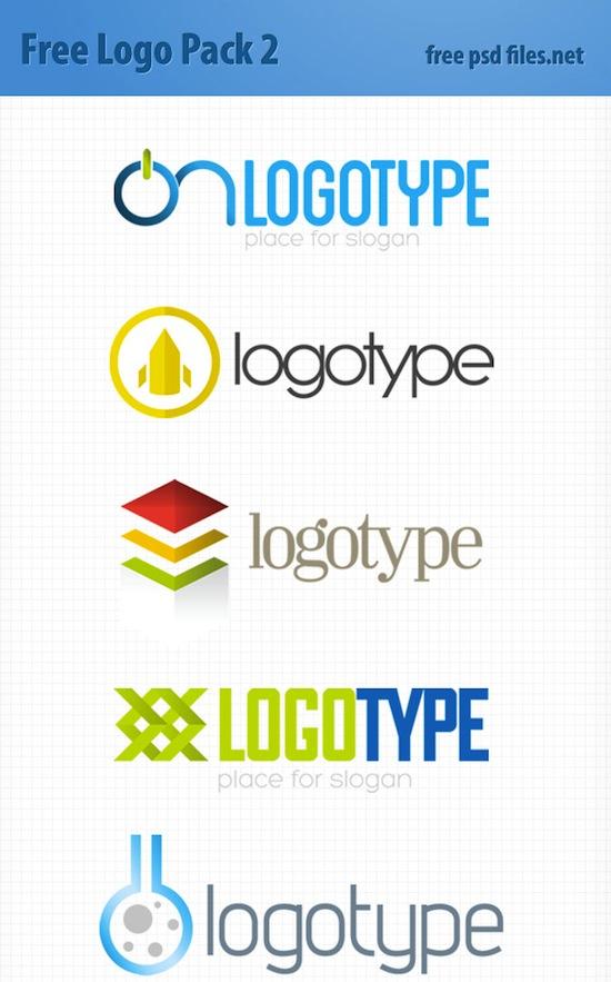 PSD Logo Design Templates Pack 2