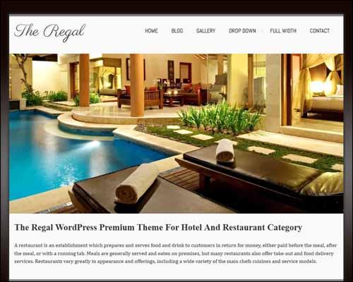 Regalway Free Responsive WordPress Theme