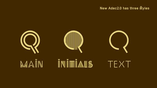 Typeface Adec2.0 Free Behance Font