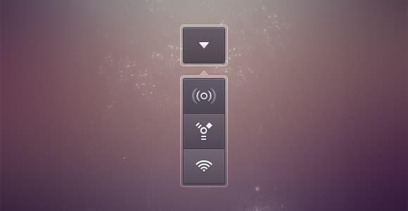 Communication dropdown buttons