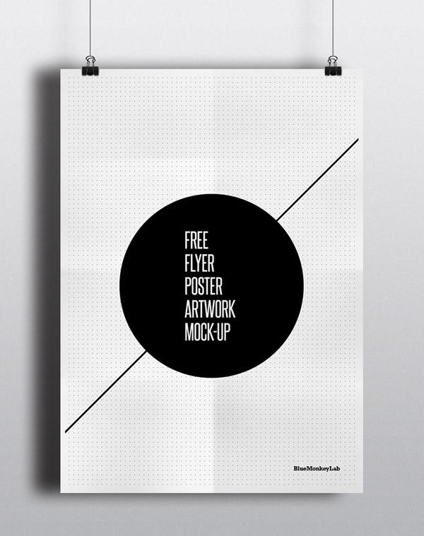 Free Flyer Poster Mock-up