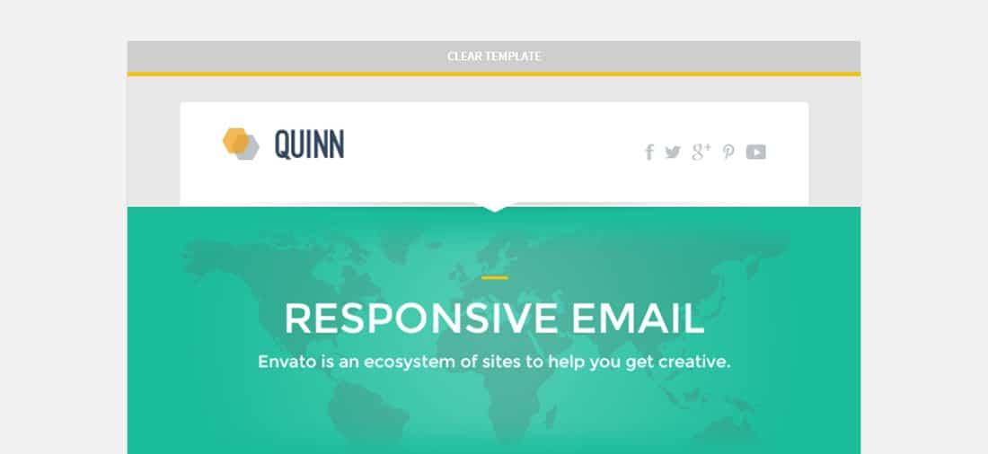 Quinn Box Best Newsletter Templates for MailChimp