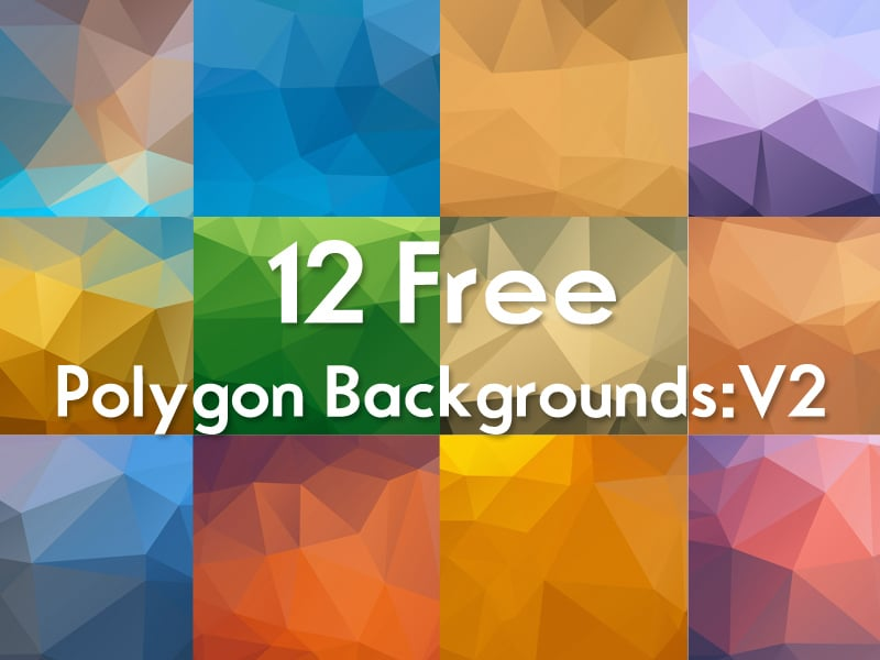 Free Polygon Backgrounds V2